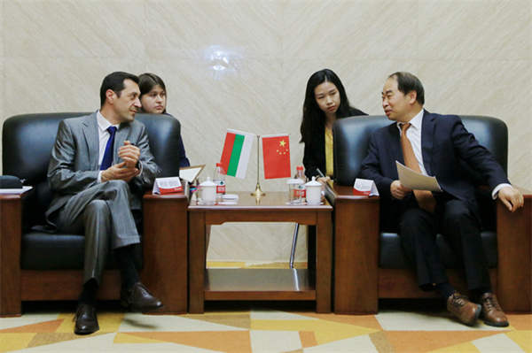 Bulgarian Ambassador to China delivers lecture at BFSU