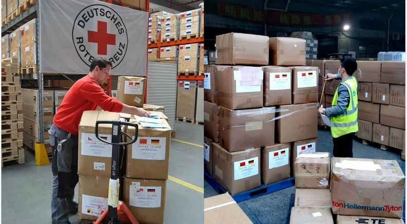 CIYEC Donates Anti-Virus Materials to Overseas Countries